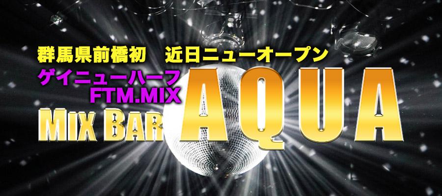 求人|前橋初MIXバーAQUA ※FTM/ゲイ/ニューハーフ大募集